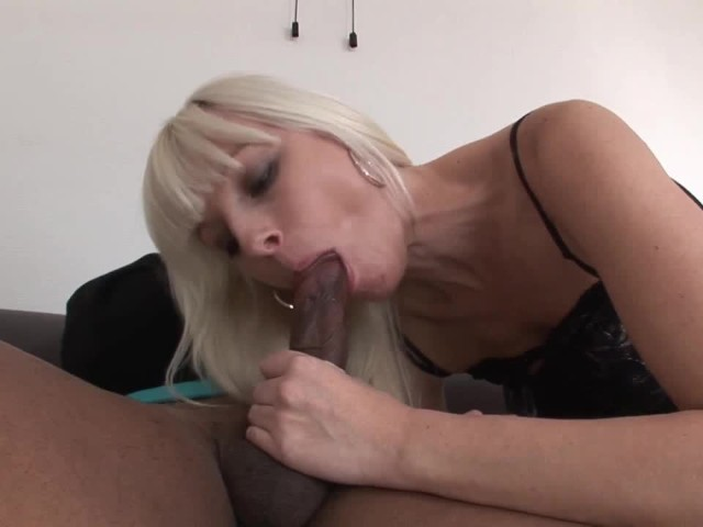 sexy blonde stepmom gets fucked in the ass hard by black stepson