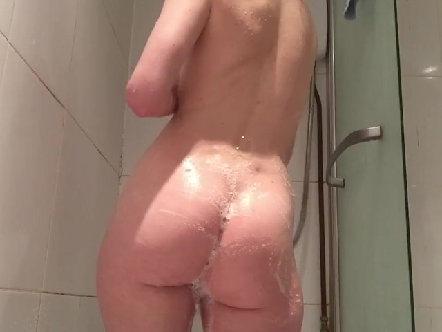 Watch Me Massage and Play With My Soapy Teen Body in the Shower