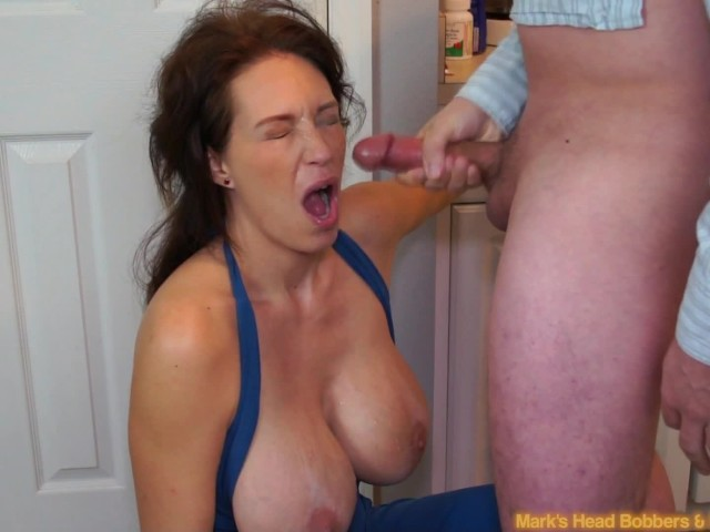Nubile mom blackmail into sex with son busty milf