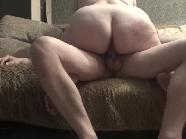 Massive Ass Sucks and Rides Cock