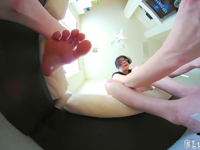 Bad Tiny Husband Caught Underfoot Giantess Foot Crush