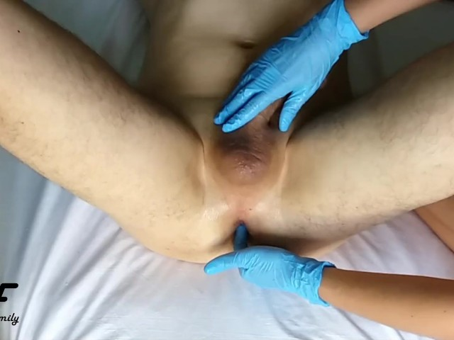 Sexy Amateur Milf Gives Prostate Massage With Huge Cum