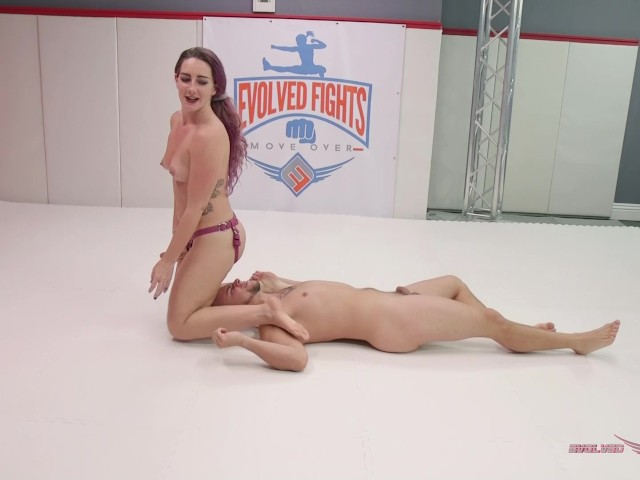 Savannah and Shawn Foxx Battle in Man Vs Women Sex Fight Winner Fucks Loser