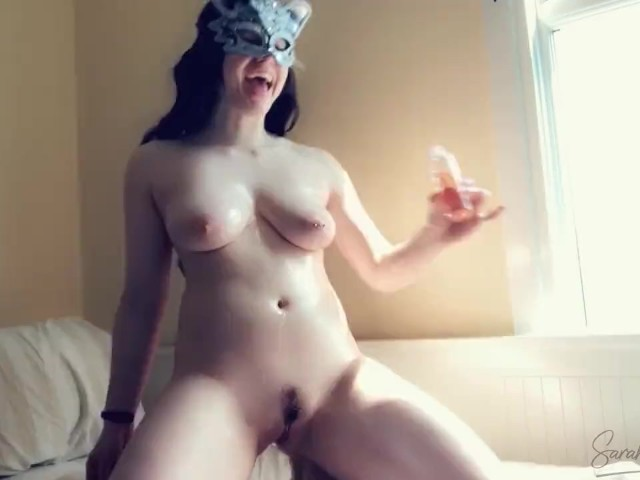 Oil Massage - Watch Me Oil Up My Big Boobs and Butt