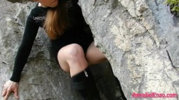 Hiking and Masturbating in...
