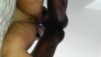 creamie Pussy pawg thick latina dripping from my long thick chocolate bbc