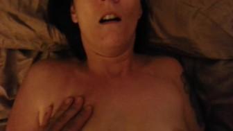 Amateur couple sex after using a penis pump with a facial ending