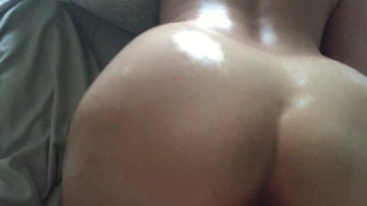 HOT Oiled-Up Creampie GRAPHIC