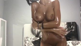 Anisyia livejasmin oil overload big tits huge ass perfect body