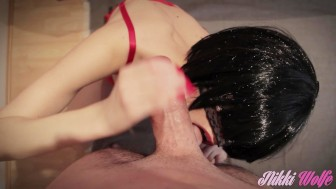 10 - Blowjob is a family affair, part1: Let My Sister Watch - Nikki's WE #3
