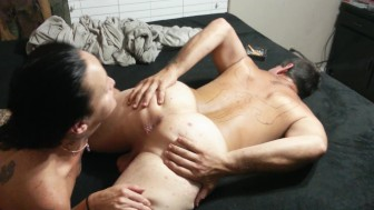 GIA ROSE LICKS MY ASSHOLE, BEST RIMJOB EVER!