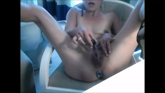 dildo, butt plug, enjoyment of OxanaTasev