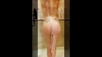 Shower slide show
