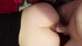 Barely Legal PAWG Slut Innocence Gags&Sucks&Gets Fucked Hard!MySlut Part:3