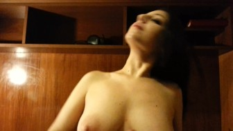 Dead_Girl Swallows His Brother's Cum