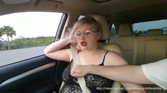 Porn Revenge - I Let His Little Brother Play With My Big Tits in Public!!