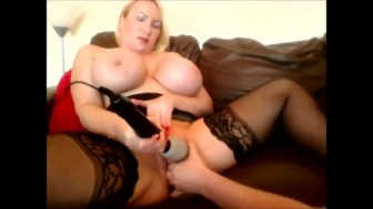 He Fingers my ass and pussy while I magic wand my clit multiple orgasms