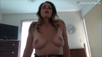Son Home For The Holiday Gets Seduced By Mom