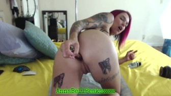 Anna Bell Peaks Has Hardcore Anal Orgasm