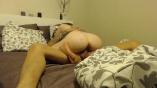 Emmarae cums 3 times for Daddy