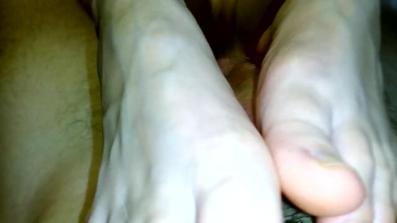 amateur and homemade footjob