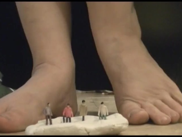 Teen Giantess Socks Feet