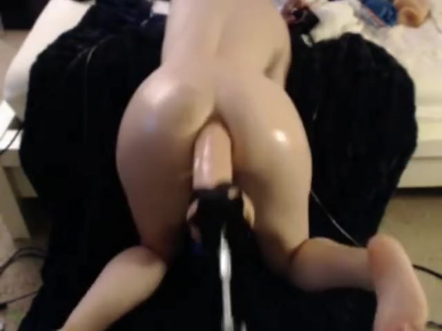 Huge Dildo Anal Machine