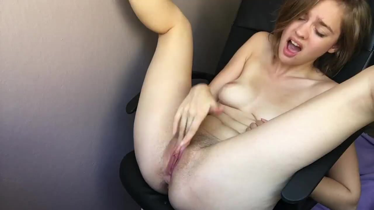Barely legal handjob cum