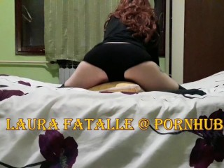 Step sister caught masturbating humping her pillow – Laura Fatalle