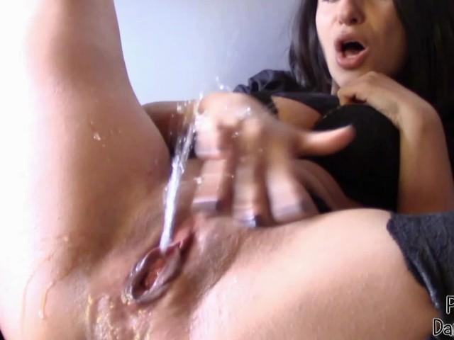 Dick Rubbing Pussy Cum Ebony