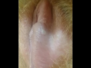 Wounded Cunt Creampied. Sensual Intimate play ▶