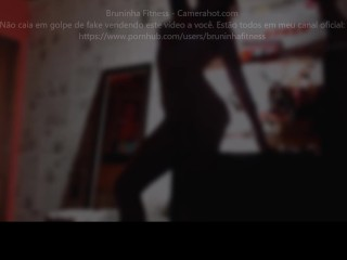 Attractive brazilian dancing in her room – Attractive lap dance and lingerie striptease