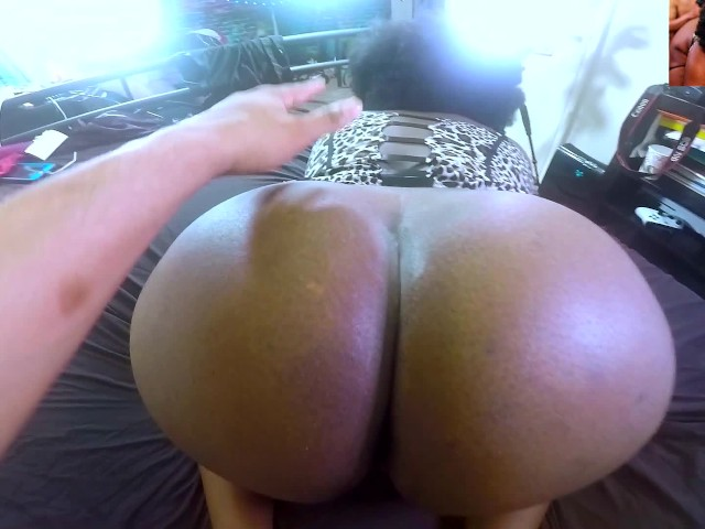 Big Black Ass Rides Cock