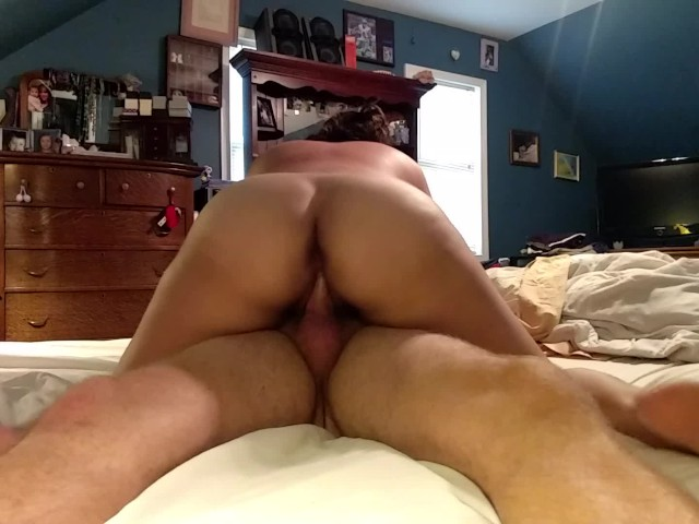 Homemade Amateur Riding Dick