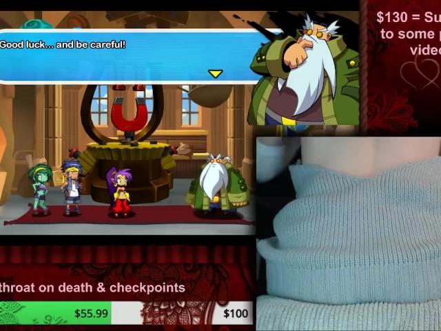Sweet Cheeks Plays Shantae Half Genie Hero [hard Difficulty] (part 3)