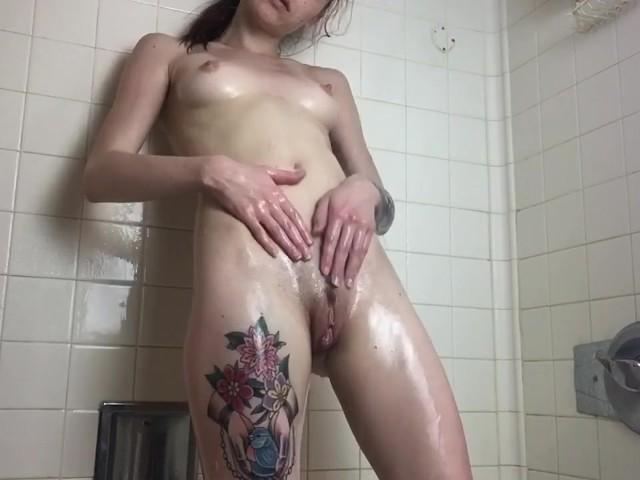 Blonde Teen Shower Fuck