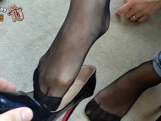 Mature Cougar High Heels
