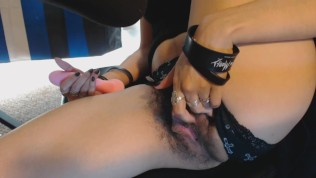 Goth Girl Teases and...