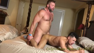 Gay Porn Tube XXX  Daddy breeds young hot guy