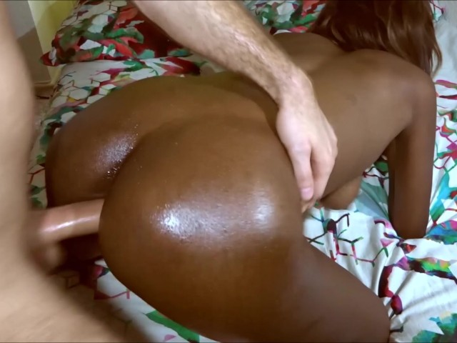 Juicy Booty Ebony Doggystyle