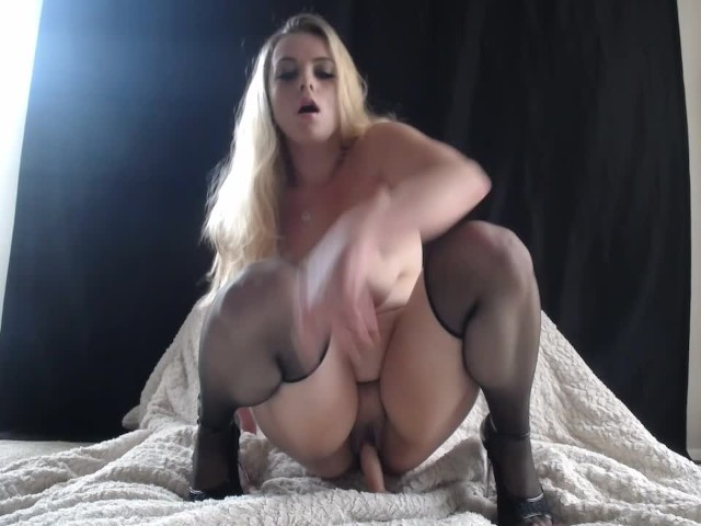 girl riding dildo public