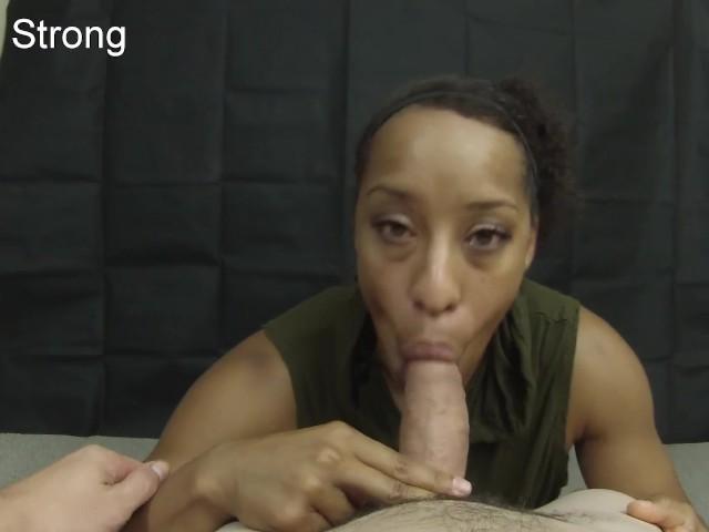 Ebony Sucking Dick The Car
