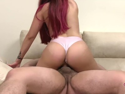 I Came On His Dick And He Cums Inside Me – Amateur Sex Homemade