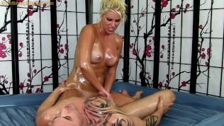 Oil Massage Sex with Cherry Morgan