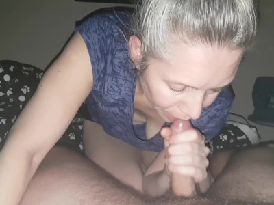 Blowjob and Swallowing Sperm