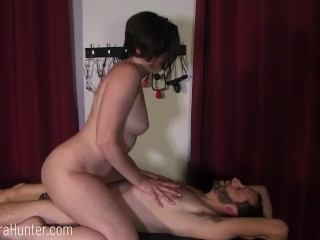 Lover Bangs BF in Chastity