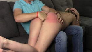 Bad Girl Gets Spanked and Fingered