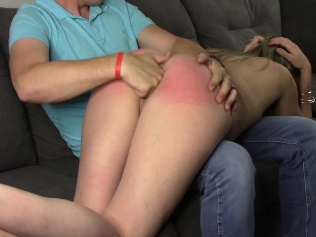 Daddy spanks his bad girl