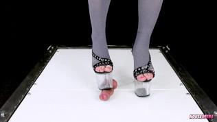 COCKCRUSH COCK BALLS TRAMPLING BALLBUSTING CBT POV high heels shoejob | Era