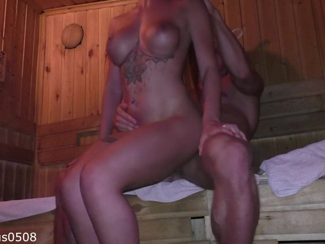 Beautiful Young Escort Girl Was a Bachelor Party Gift in the Sauna